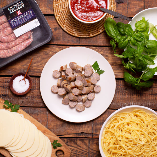 Sweet Sausage with Provolone & Parsley