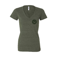 Load image into Gallery viewer, SCM Strong Women's V-Neck T-Shirt