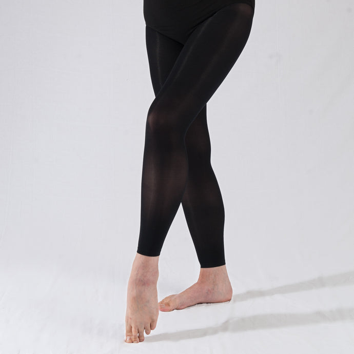 Cotton Lycra Footless Tights/ Leggings
