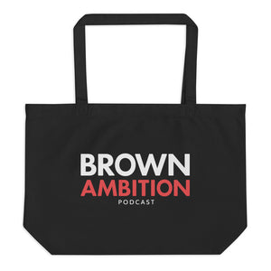Brown Ambition Organic Tote Bag