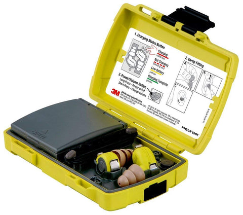 3M Peltor LEP-100 EU Level Dependent Earplug Kit  Case