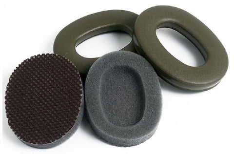 3M Peltor HY68 Replacement Ear Cushions Hygiene Kit Olive