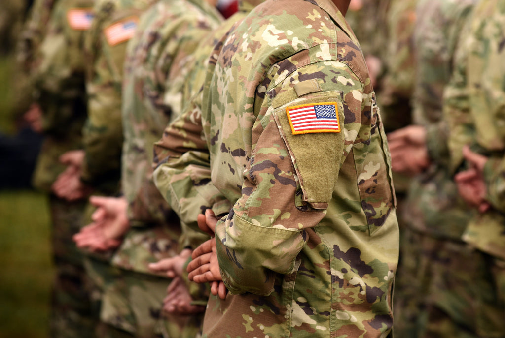 US Army in Multicam