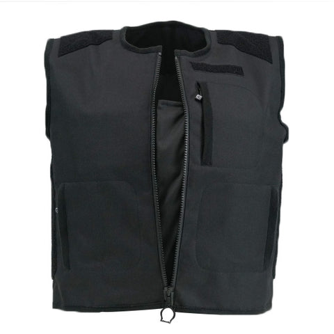 Alpinebear Stab Protective Vest SMRT Black Front Open