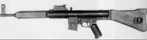 Black and white image of the HK G3 from when it was first developed