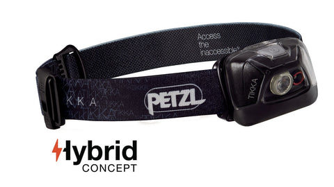 Petzl Headlamp TIKKA Black