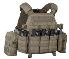 Warrior Assault System DCS Plate Carrier Bundle Coyote G36