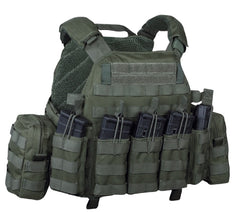 Warrior Assault System DCS Plate Carrier Bundle Olive 5.56mm