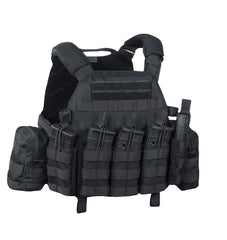 Warrior Assault System DCS Plate Carrier Bundle Black G36