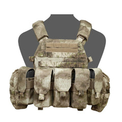 Warrior Assault System DCS Plate Carrier Bundle A TACS AU M4