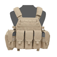 Warrior Assault System DCS Plate Carrier Bundle Coyote M4