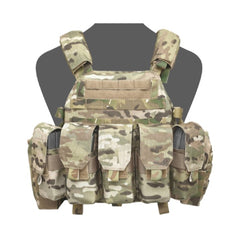 Warrior Assault System DCS Plate Carrier Bundle Multicam M4