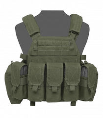 Warrior Assault System DCS Plate Carrier Bundle Olive M4