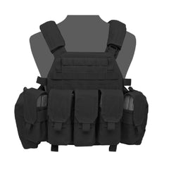 Warrior Assault System DCS Plate Carrier Bundle Black M4