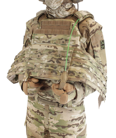 Warrior Assault System DCS Plate Carrier QRS Multicam open