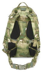 Warrior Assault Systems Predator Pack Backpack A-TACS FG Back