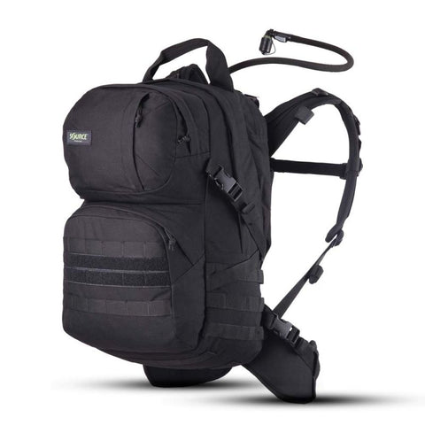 Source Patrol Pack 35L Hydration Backpack Black