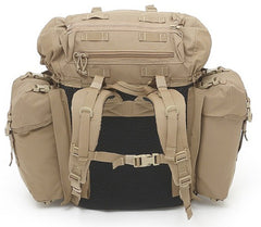 Warrior Assault Systems BMF Bergen Backpack Coyote Back