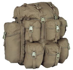 Warrior Assault Systems BMF Bergen Backpack Coyote Front
