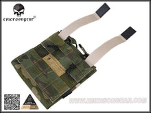 Load image into Gallery viewer, Emersongear Tactical Double M4 5.56mm + 9mm Molle Mag Pouch - CHK-SHIELD | Outdoor Army - Tactical Gear Shop