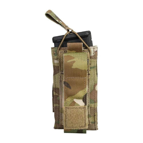 Emersongear Tactical Single M4 5.56mm + 9mm Molle Mag Pouch - CHK-SHIELD | Outdoor Army - Tactical Gear Shop