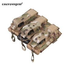 Load image into Gallery viewer, Emersongear Tactical Triple M4 5.56mm + 9mm Molle Mag Pouch - CHK-SHIELD | Outdoor Army - Tactical Gear Shop