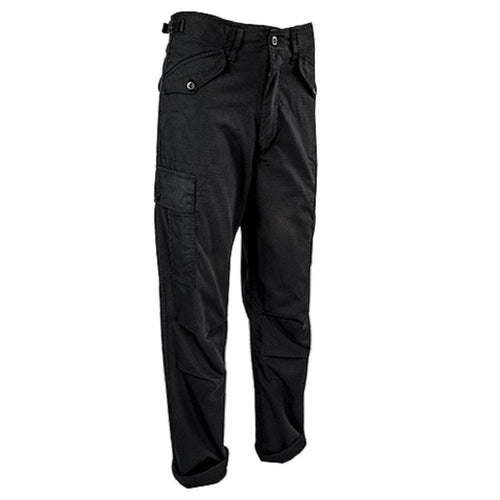 Highlander M65 Trousers Ripstop Black - CHK-SHIELD | Outdoor Army - Tactical Gear Shop