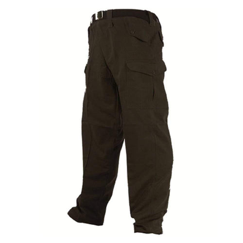 Highlander US Style Trousers Ripstop Black - CHK-SHIELD | Outdoor Army - Tactical Gear Shop