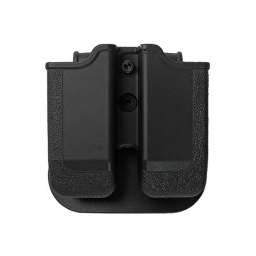 IMI Defense Polymer Double Pistol Mag Pouch MP02 9mm Black - CHK-SHIELD | Outdoor Army - Tactical Gear Shop