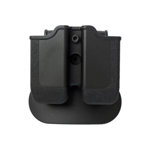 IMI Defense Polymer Double Pistol Mag Pouch MP05 cal. 45 Black - CHK-SHIELD | Outdoor Army - Tactical Gear Shop