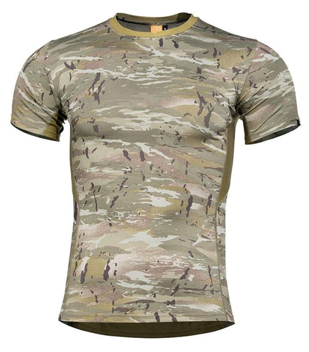 Pentagon T-Shirt Apollo TAC-FRESH - CHK-SHIELD | Outdoor Army - Tactical Gear Shop