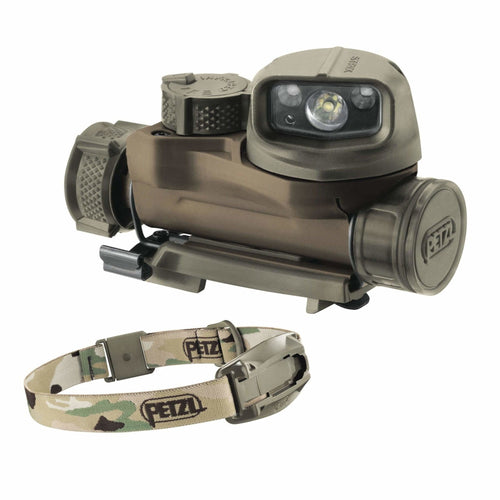 Petzl Headlamp STRIX IR - CHK-SHIELD | Outdoor Army - Tactical Gear Shop