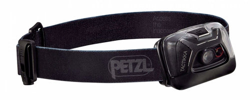 Petzl Headlamp Tactikka Black - CHK-SHIELD | Outdoor Army - Tactical Gear Shop