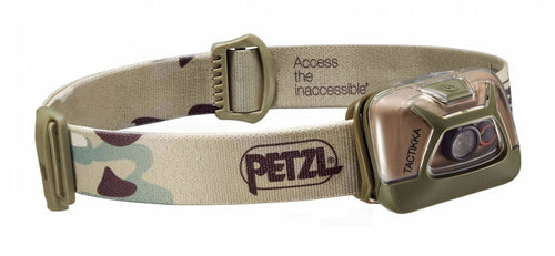 Petzl Headlamp Tactikka Camo - CHK-SHIELD | Outdoor Army - Tactical Gear Shop