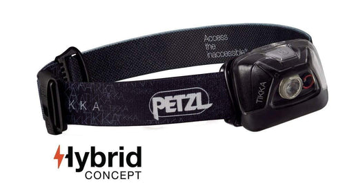 Petzl Headlamp TIKKA Black - CHK-SHIELD | Outdoor Army - Tactical Gear Shop