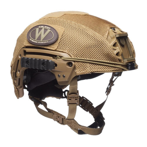 Team Wendy Helmet Cover Exfil Carbon - LTP Helmets - CHK-SHIELD | Outdoor Army - Tactical Gear Shop