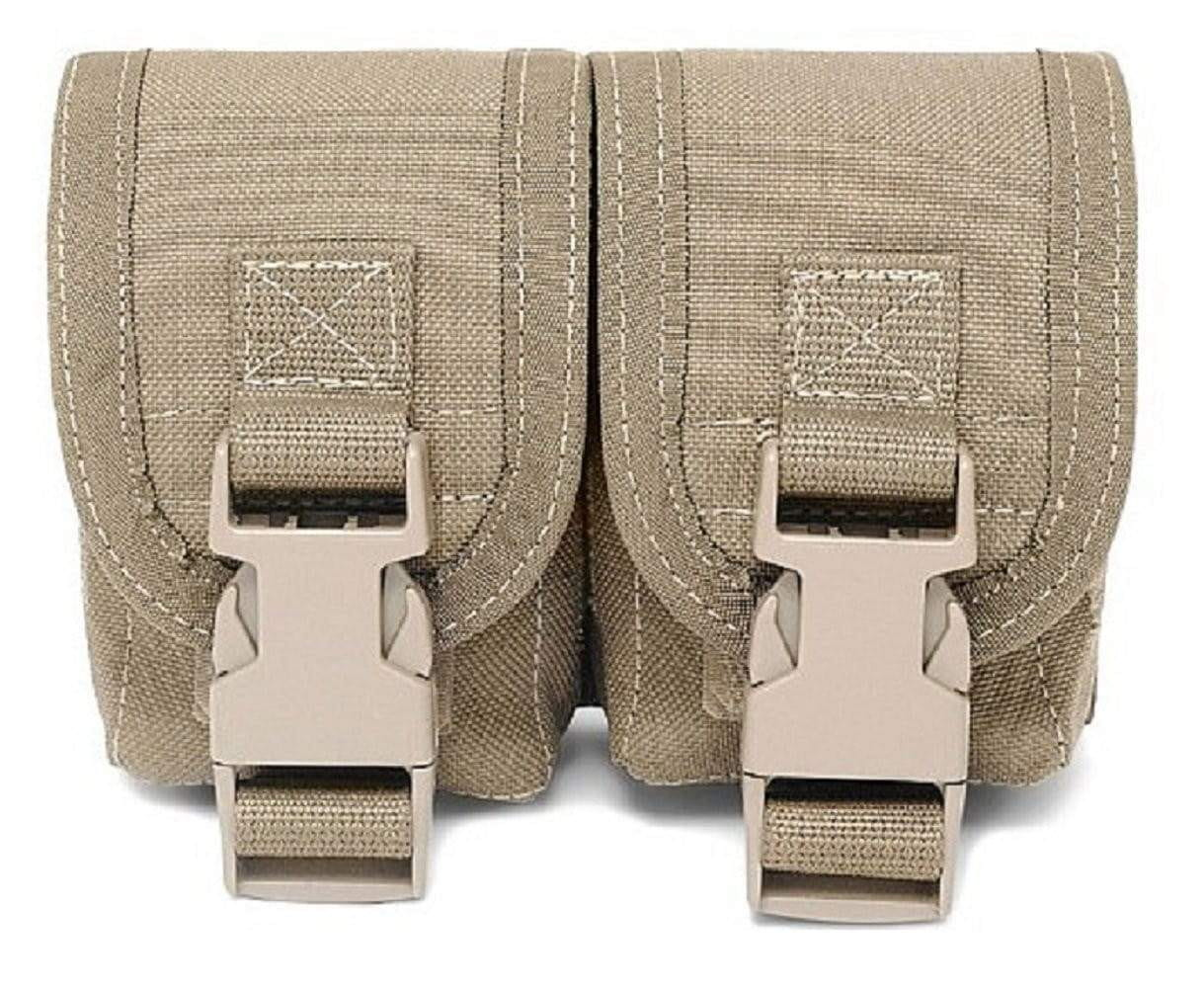 Warrior Assault Systems Double Frag Grenade Pouch - CHK-SHIELD | Outdoor Army - Tactical Gear Shop