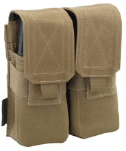 Load image into Gallery viewer, Warrior Assault Systems Double Mag Pouch with Flap M4 - CHK-SHIELD | Outdoor Army - Tactical Gear Shop