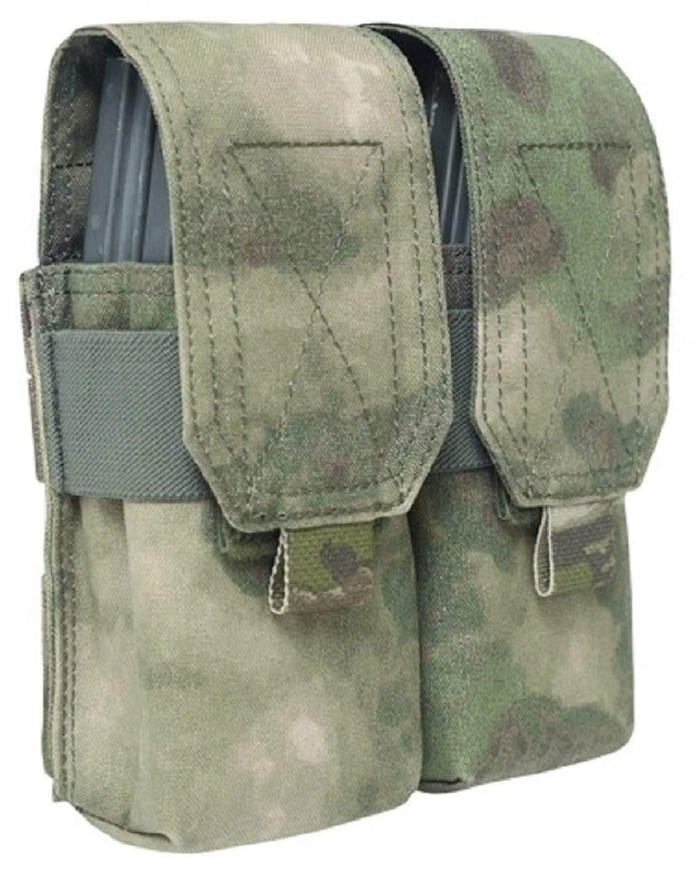 Warrior Assault Systems Double Mag Pouch with Flap M4 - CHK-SHIELD | Outdoor Army - Tactical Gear Shop