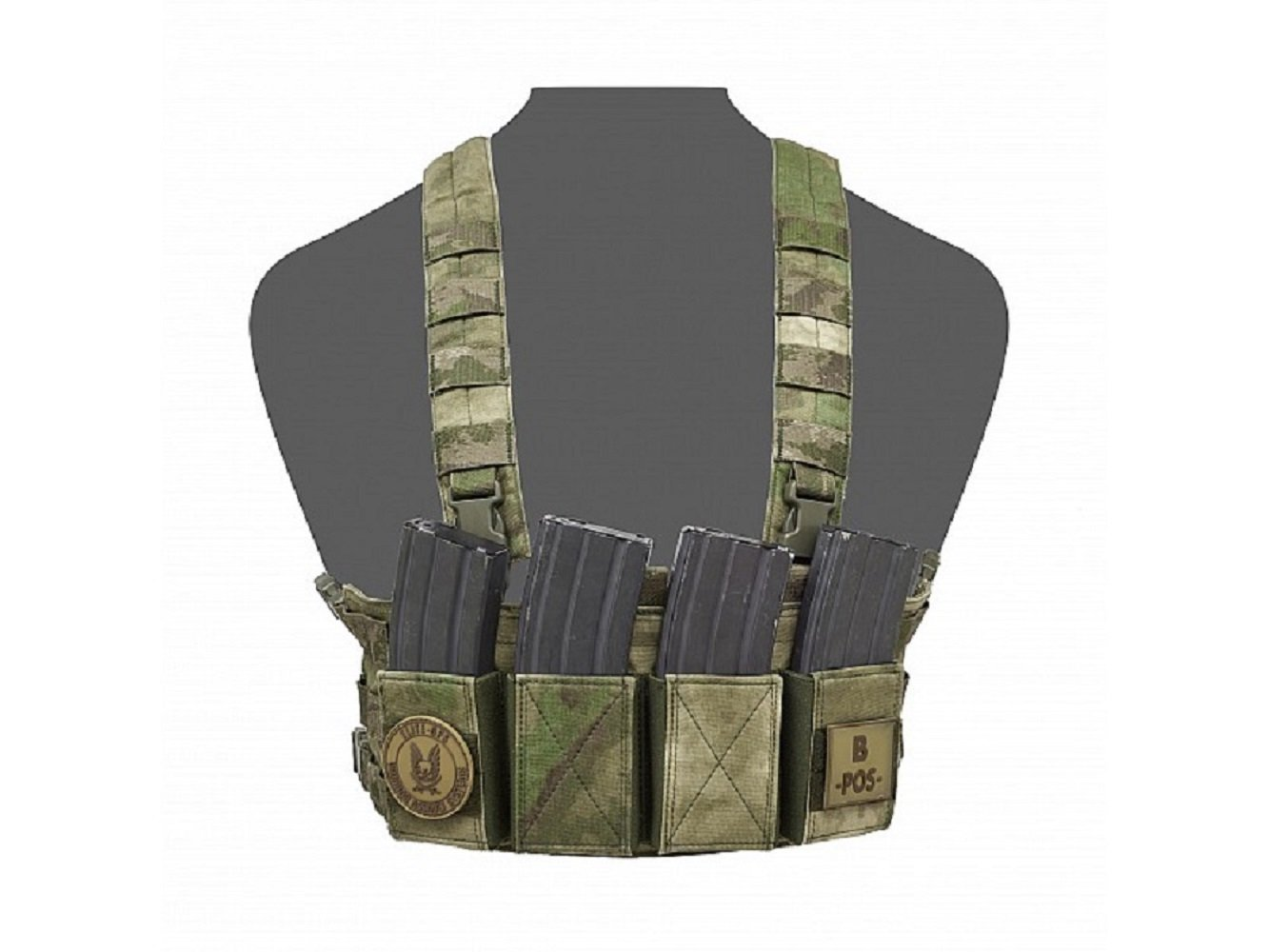 Warrior Assault Systems Low Profile Chest Rig - CHK-SHIELD | Outdoor Army - Tactical Gear Shop