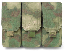 Load image into Gallery viewer, Warrior Assault Systems Triple Mag Pouch with Flap M4 - CHK-SHIELD | Outdoor Army - Tactical Gear Shop