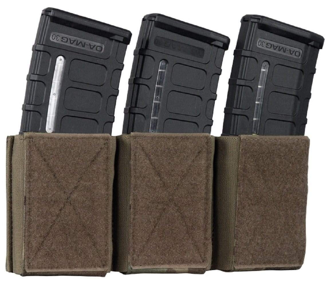 Warrior Assault Systems Triple Mag Pouch with Hook and Loop 5.56 mm - CHK-SHIELD | Outdoor Army - Tactical Gear Shop