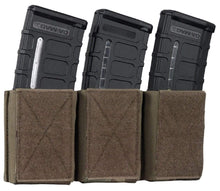 Load image into Gallery viewer, Warrior Assault Systems Triple Mag Pouch with Hook and Loop 5.56 mm - CHK-SHIELD | Outdoor Army - Tactical Gear Shop