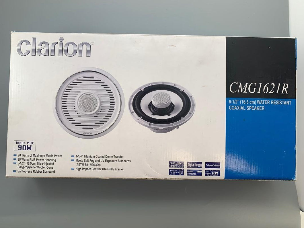 CLARION Water Resistant Coaxial Speaker