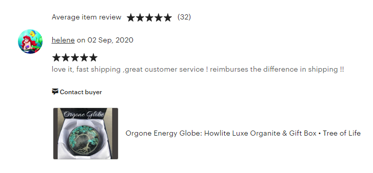 Orgonite Reviews & Testimonials