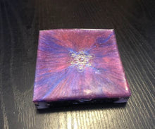 Load image into Gallery viewer, Orgonite ™ Coaster Charging Plate 4 inch sides • Genuine Orgone Energy • Organite for Manifestation