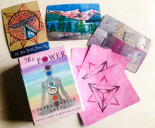 Load image into Gallery viewer, The Power of 8 Chakra Oracle Cards • Energy Healing Oracle Card Deck • Reiki Cards