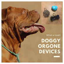 Load image into Gallery viewer, Doggy Orgone Energy Pendant: Pet Healing Orgonite