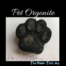 Load image into Gallery viewer, Paw Orgonite Pendant: Pet Healing Orgone Energy