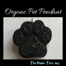 Load image into Gallery viewer, Paw Orgonite Pendant: Healing Orgone Energy for Pets